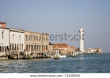Venice - lighthouse from Murano island
