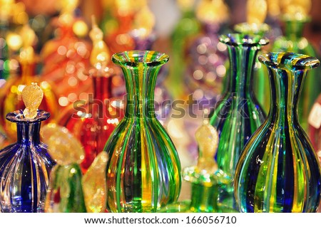 VENICE - MAY 01:Glass-work in Murano island on May 01 2011 Venice Italy. Master glassmakers of Murano use the same tools as their ancestors have thousands of years ago. - stock photo