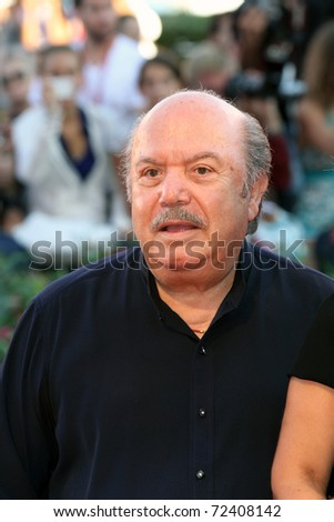 VENICE - SEPTEMBER 01: Actor Lino Banfi attends the 'Black Swan' premiere during the 67th Venice Film Festival on September 1, 2010 in Venice, Italy.