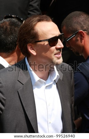 VENICE - SEPTEMBER 04: actor Nicolas Cage during the 66th Venice Film Festival on September 4, 2009 in Venice, Italy. - stock photo