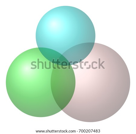 Venn Diagram Three Sets Stock Illustration 700207483 Shutterstock