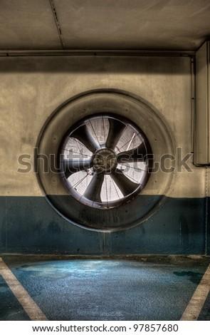 Ventilation - stock photo