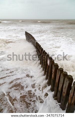ventnor beach isle of wight uk. - stock photo