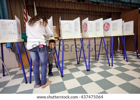 ventura county ca june 7 2016 boy looks under voting booth - Suspension Ikea Lombards