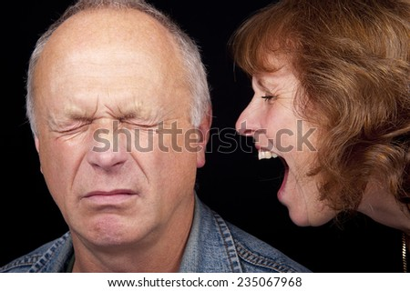 Verbal Abuse - stock photo