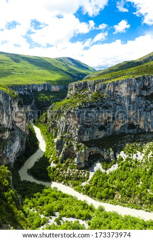 Verdon Gorge, Provence, France - stock photo
