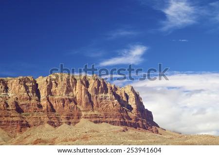 Vermilion Cliffs national Monument, Arizona, Usa. - stock photo