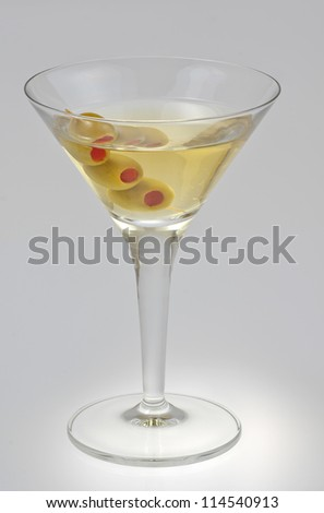 vermouth  isolated on a white background