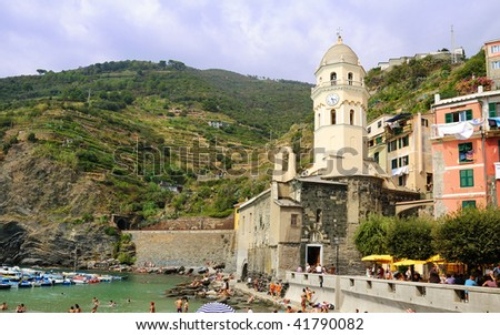 Vernazza: small town of 5 terre