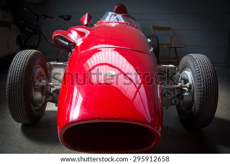 VERONA, ITALY - MAY 25: The municipality of Verona organizes a free gathering of sports and antique cars in Verona on Saturday, May 9, 2015.