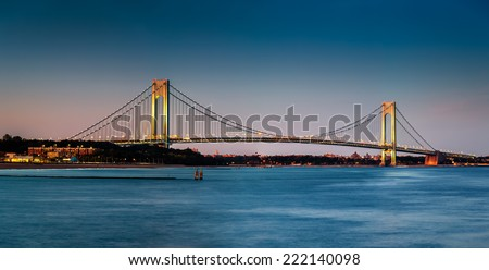 Verrazano bridge stock photos images pictures for Staten island fishing