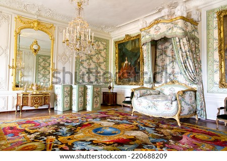 VERSAILLES FRANCE August 7 2014 Interior Stock Photo (Edit Now ...