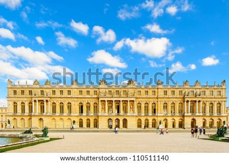 Versailles, Paris - stock photo
