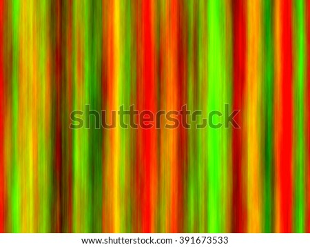 vertical blended stripes of thick paint in vibrant shades of green, red and yellow (tileable)