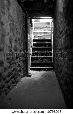basement stairs stock photos images pictures shutterstock. Black Bedroom Furniture Sets. Home Design Ideas