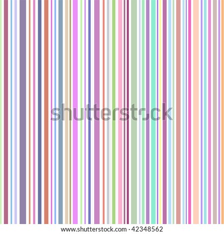 Vertical raster pastel multicolored stripes background