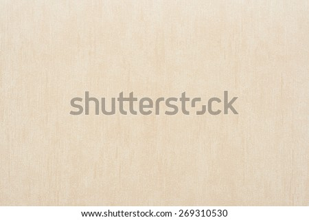 Vertical rough texture of vinyl wallpaper for abstract backgrounds of beige color - stock photo