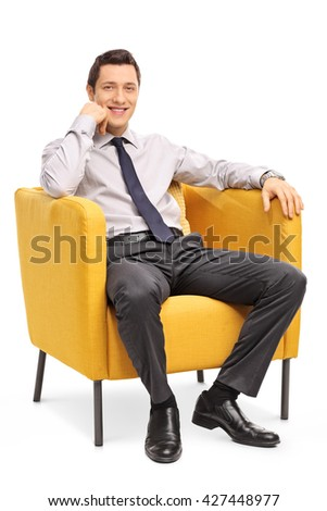 Comfortable chair stock images royalty free images for Sitting easy chairs