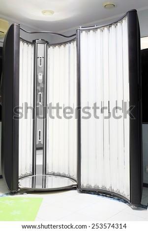 Vertical Solarium - stock photo