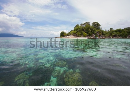 Very beautiful island at the south of thailand