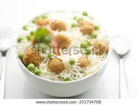 Very delicious pulao - stock photo