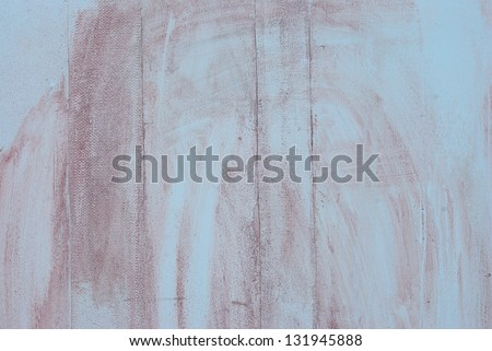Very dirty white concrete wall texture background - stock photo