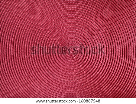 Very fine red textile texture. - stock photo