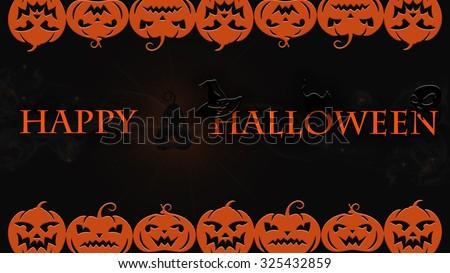 Very High Detail Ultra Definition Halloween Stock Illustration ...