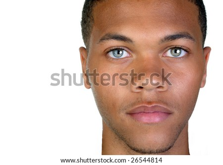 Very Nice closeup of a afro american man