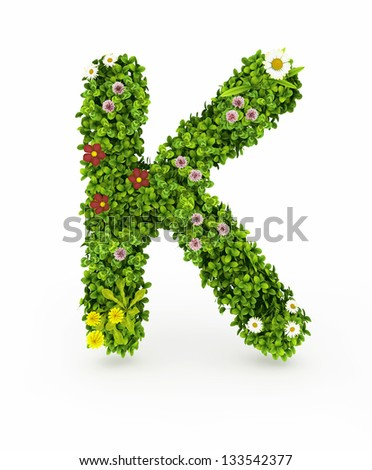 alphabet floral nice very stock images, royaltyfree images, Beautiful flower