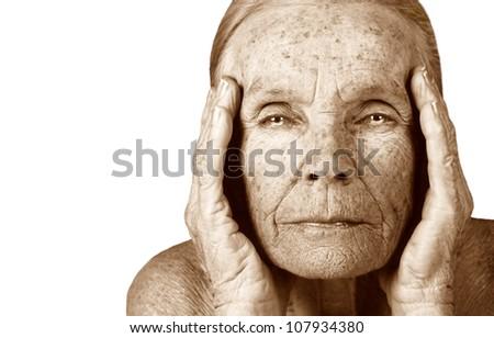 Very Nice image of the Ageless beauty of seniors - stock photo