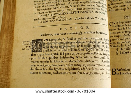 Very old Latin book  (17 century)