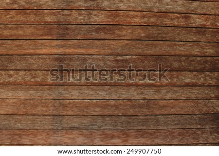 Very old rolling shutter in wood - stock photo