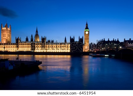 very rare picture of big ben stopped a 12h - stock photo