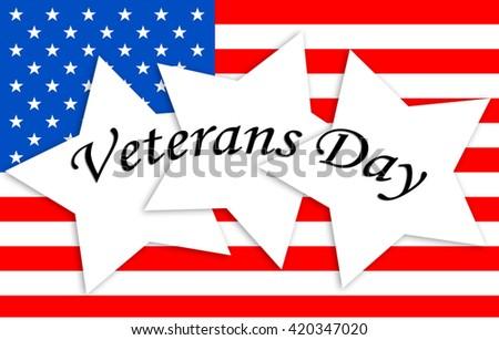 Veterans Day - stock photo