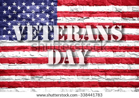 veterans day american flag background