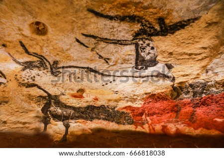 Cave Art France Stock Images, Royalty-Free Images & Vectors ...
