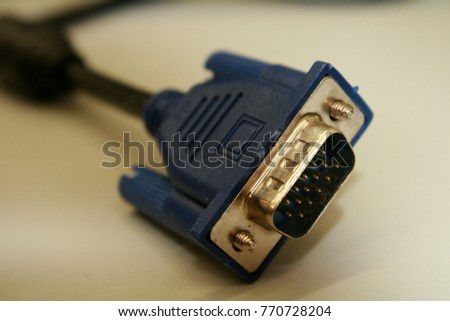 VGA Monitor connector