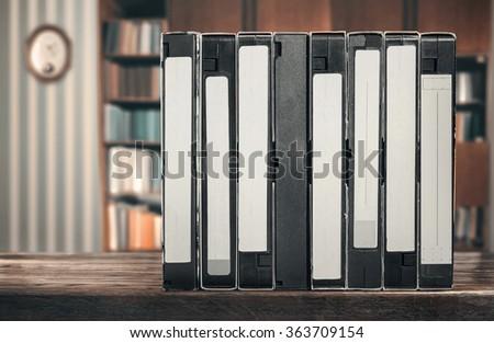 VHS - stock photo
