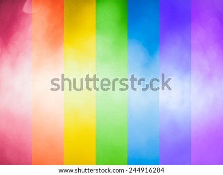 Vibrant abstract rainbow colors background texture - stock photo