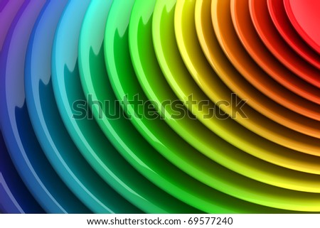 Vibrant color abstract background, background series