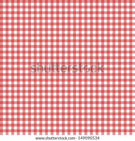 Vichy seamless pattern - stock photo