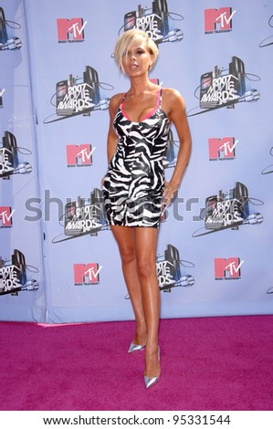 Victoria Beckham at the 2007 MTV Movie Awards at the Universal Amphitheatre. June 3, 2007 Los Angeles, CA Picture: Paul Smith / Featureflash - stock photo