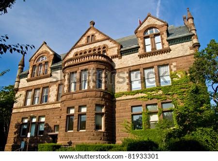 Victoria College Toronto - stock photo
