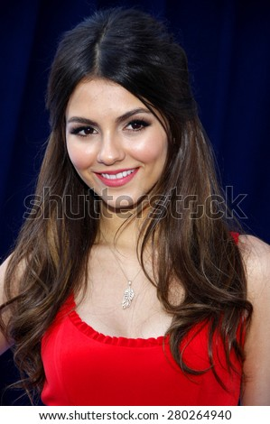 Victoria Justice at the 2011 Do Something Awards held at the Hollywood Palladium in Hollywood on August 14, 2011.  - stock photo