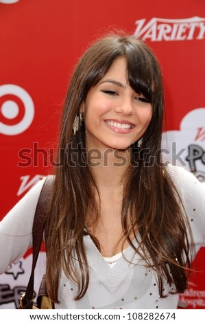 "Victoria Justice at the 'Power Of Youth' event benefitting St. Jude. L.A. Live, Los Angele, CA. 10-04-08 at the ""Power Of Youth"" event benefitting St. Jude. L.A. Live, Los Angele, CA. 10-04-08"