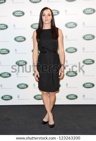 Victoria Pendleton arriving for the all new Range Rover unveiling, London. 06/09/2012 Picture by: Alexandra Glen - stock photo