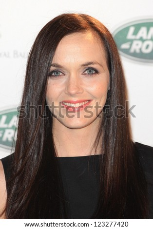 Victoria Pendleton arriving for the all new Range Rover unveiling, London. 06/09/2012 Picture by: Henry Harris - stock photo