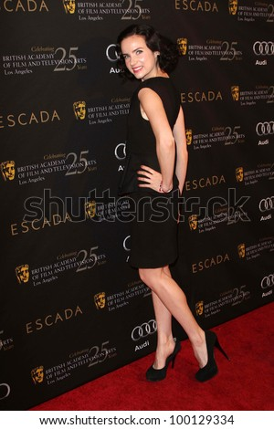 Victoria Summer at the 18th Annual BAFTA Los Angeles Awards Season Tea Party, Four Seasons Hotel, Los Angeles, CA 01-14-12