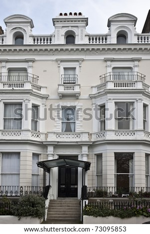 Victorian Building in London - stock photo